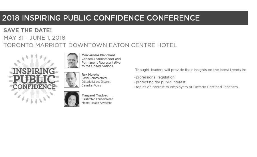 Inspiring Public Confidence Conference