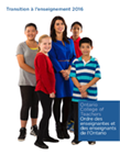 Transition to Teaching 2016 Report French