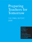 Preparing Teachers for Tomorrow–The Final Report