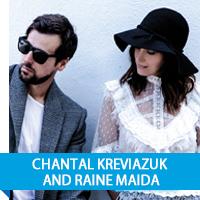 Chantal Kreviazuk and Raine Maida
