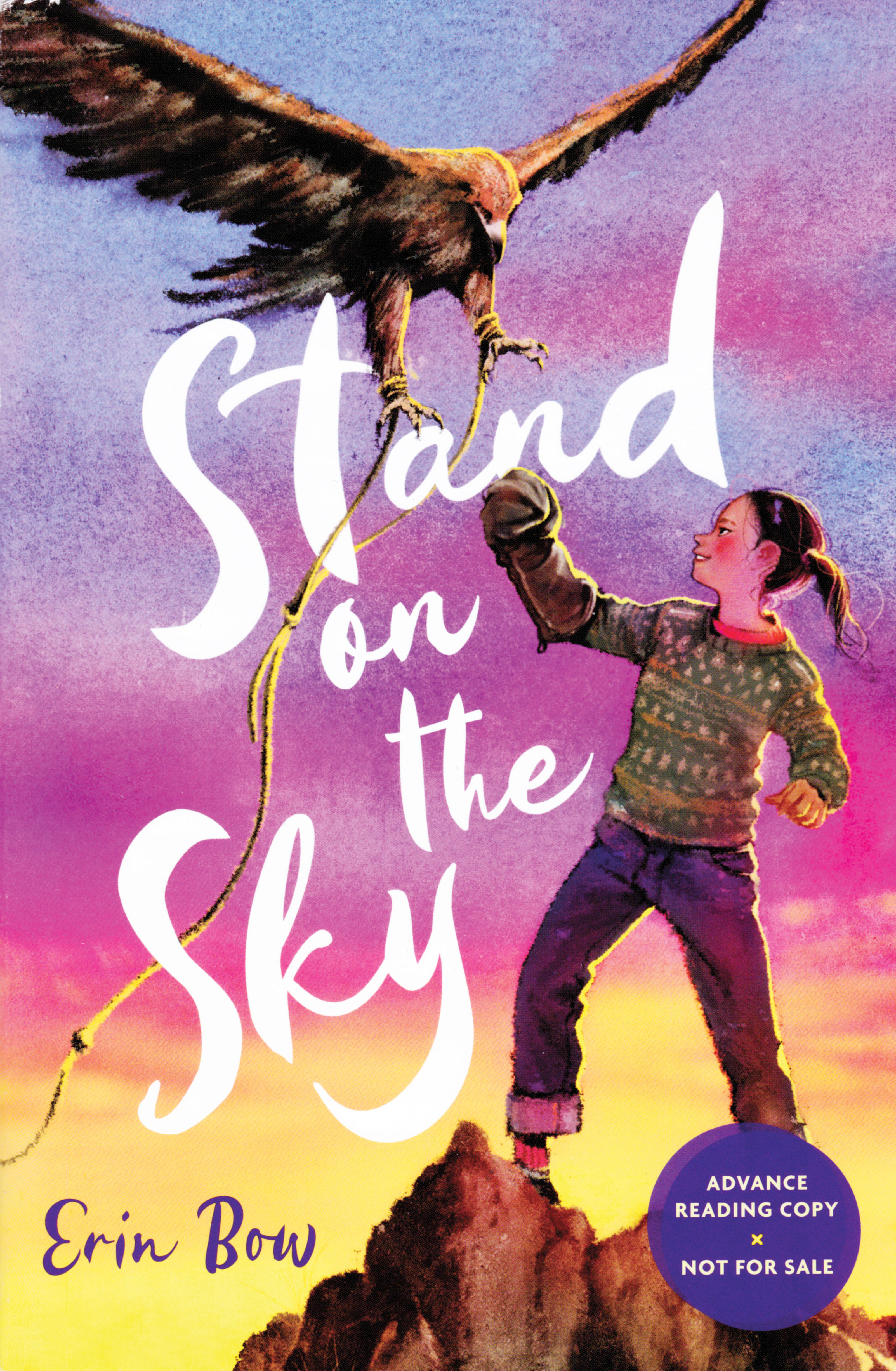 'Stand on the Sky' book cover.